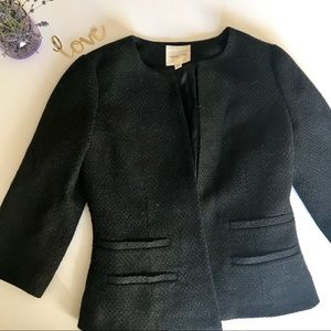 Urban Outfitters Black Shimmer Blazer